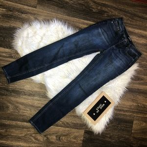 Buffalo David Bitton Dark Blue Skinny Jeans 4/27